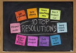New Years Resolutions!!